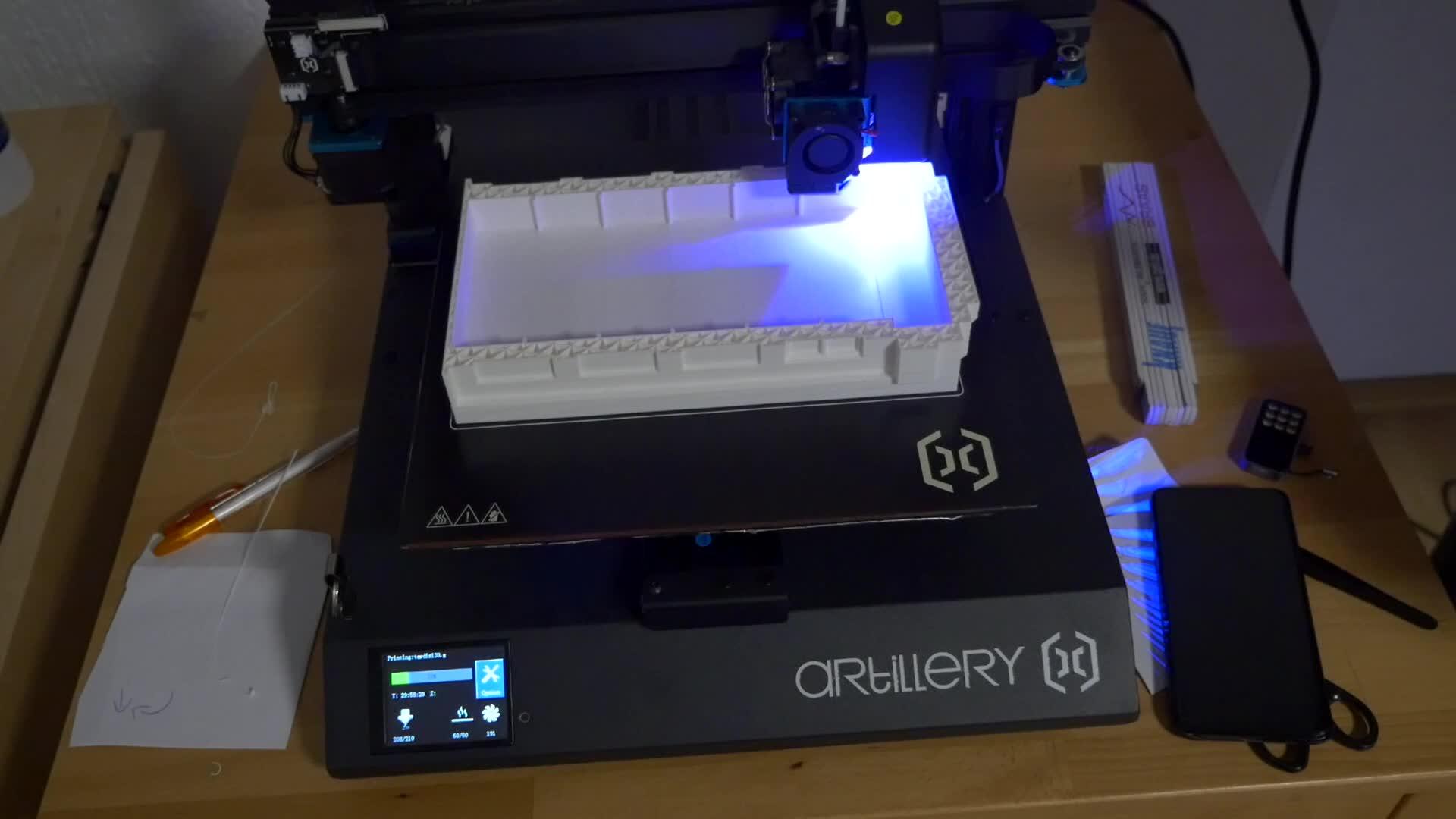 Test, Produktion, 3D-Drucker, Timm Mohn, Artillery, Sidewinder X1