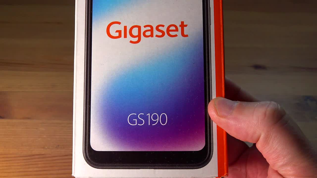 Smartphone, Android, Test, Hands-On, ValueTech, gigaset, GS190