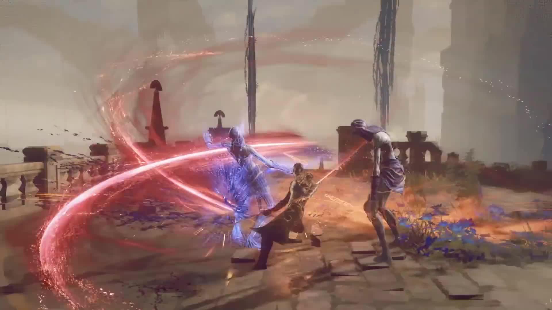 Trailer, actionspiel, Square Enix, PlatinumGames, Babylon's Fall