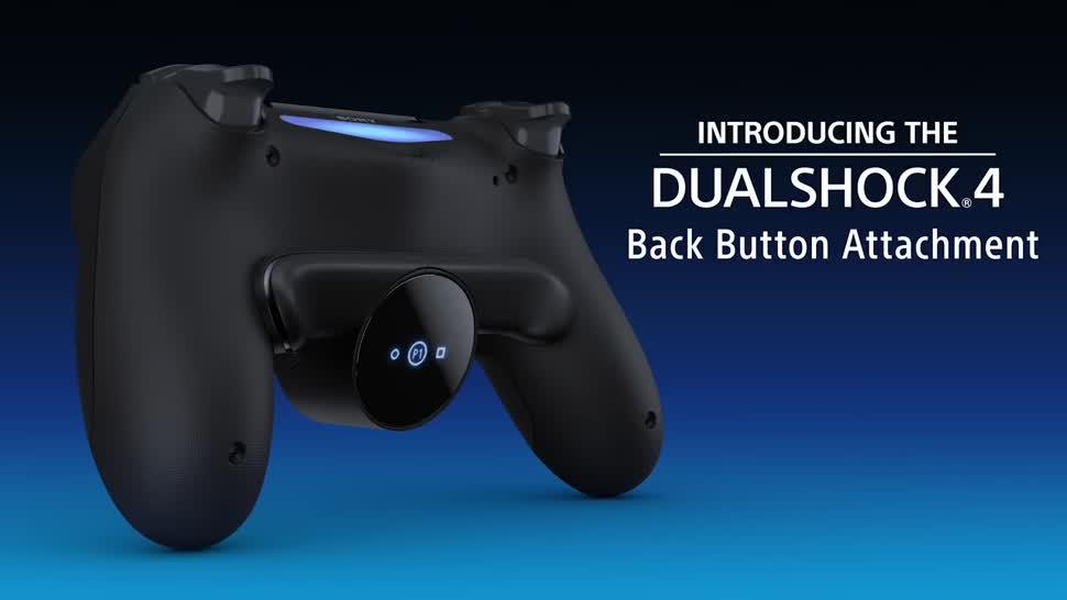 Sony, PlayStation 4, Playstation, PS4, Sony PlayStation 4, Sony PS4, DualShock 4, DualShock, DualShock 4 Rücktasten-Ansatzstück