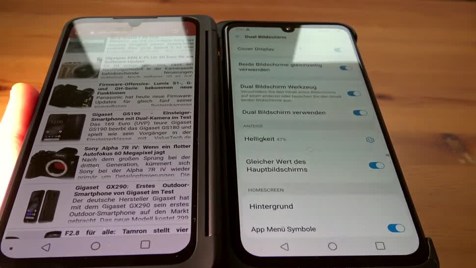 Smartphone, Android, Test, LG, ValueTech, Dual Screen, G8X ThinQ