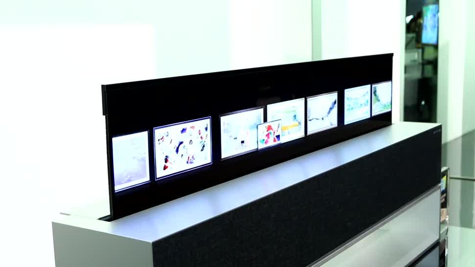 Tv, Fernseher, Ces, OLED, TV-Gerät, CES 2020, LG OLED, LG OLED 65 RX