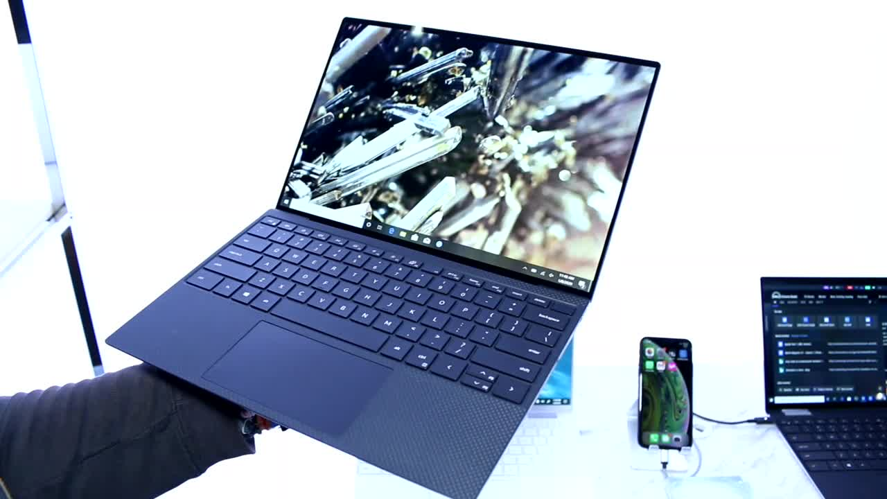 Notebook, Laptop, Hands-On, Ces, Hands on, Dell, CES 2020, Dell XPS 13