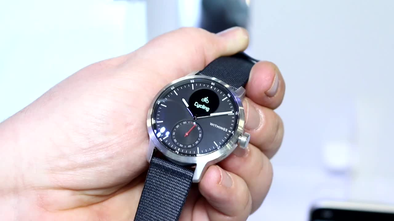 Ces, Apple Watch, Roland Quandt, CES 2020, Withings, EGK, Withings ScanWatch