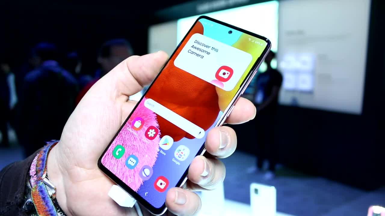 Smartphone, Samsung, Galaxy, Samsung Galaxy, Ces, CES 2020, A51, Galaxy A51