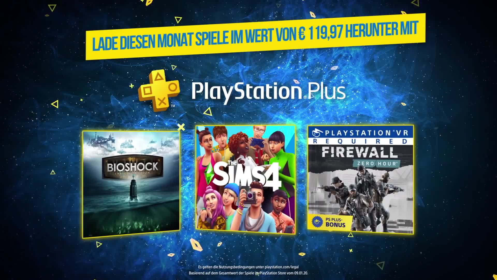 Trailer, Sony, PlayStation 4, Playstation, PS4, Sony PlayStation 4, Sony PS4, Bioshock, PlayStation VR, Bioshock Infinite, Die Sims 4, PlayStation Plus, Bioshock 2, BioShock: The Collection, PS VR, Firewall Zero Hour