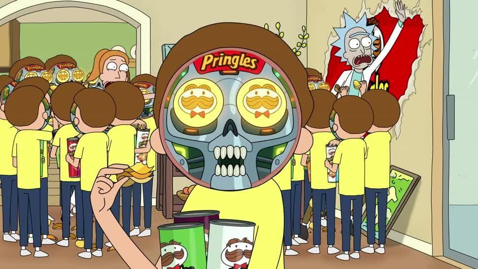 Werbespot, Super Bowl, Super Bowl 2020, Rick and Morty, Pringles
