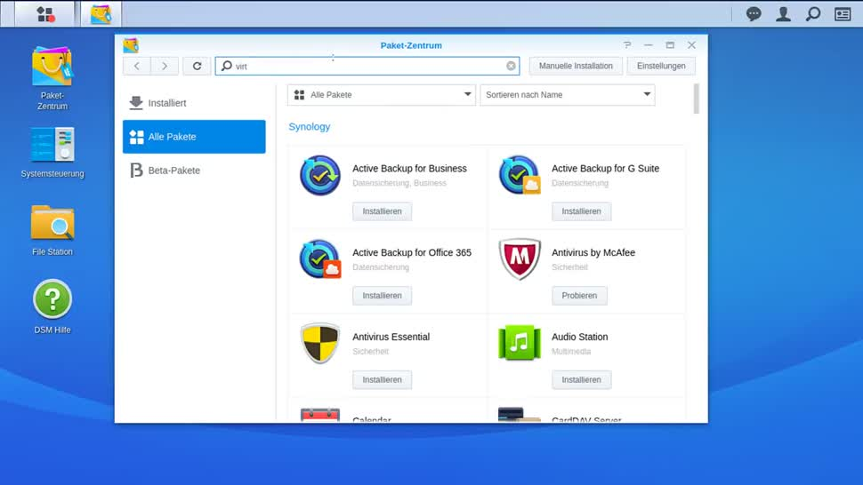 Sicherheit, Tracking, AdBlocker, VM, Nas, Virtuelle Maschine, Synology, DiskStation, Pihole