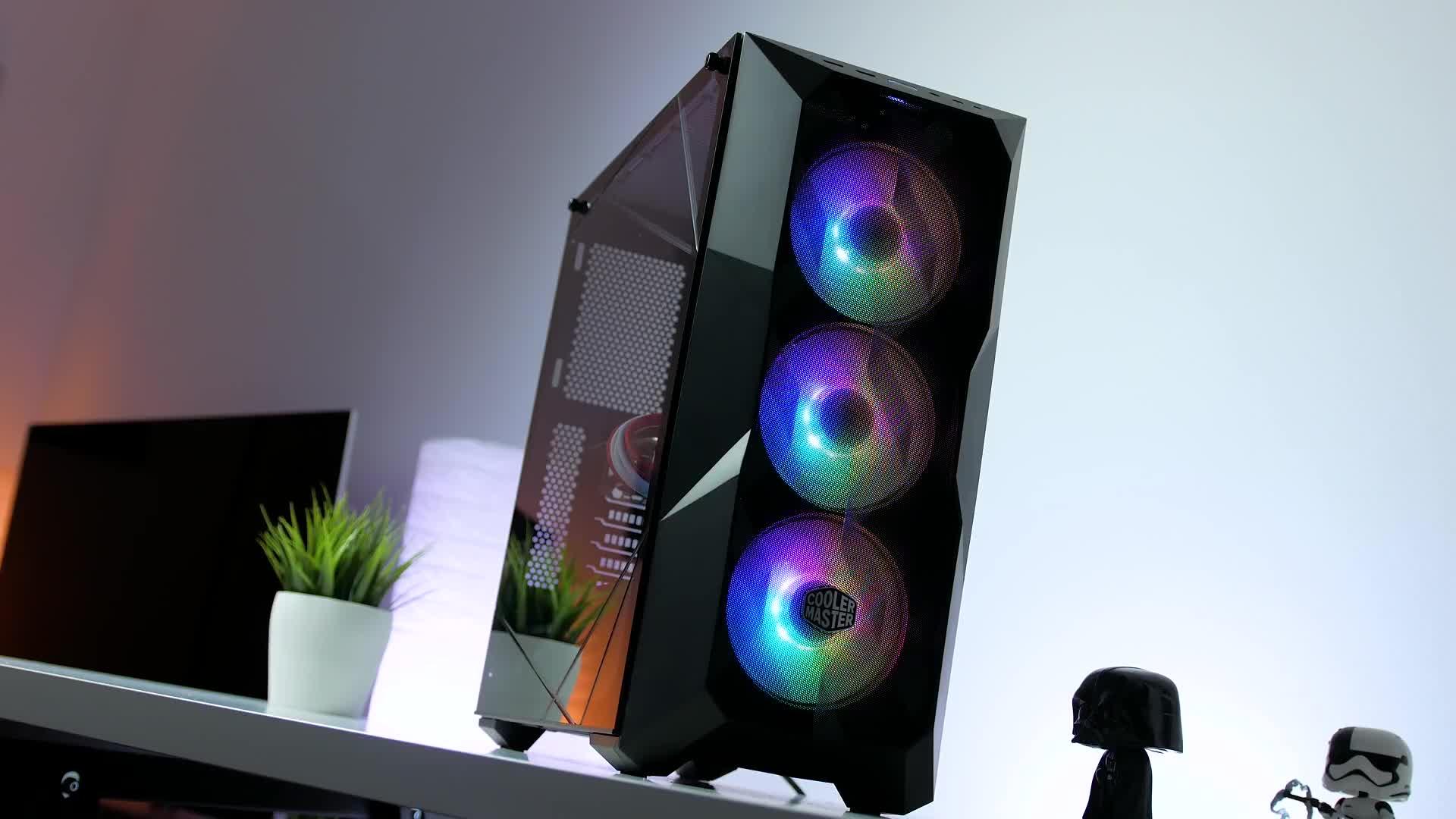 Test, Zenchilli, Zenchillis Hardware Reviews, Mesh, Gehäuse, Tower, PC-Gehäuse, Cooler Master, ATX, Cooler Master TD500 Mesh, Cooler Master TD500, TD500 Mesh, TD500
