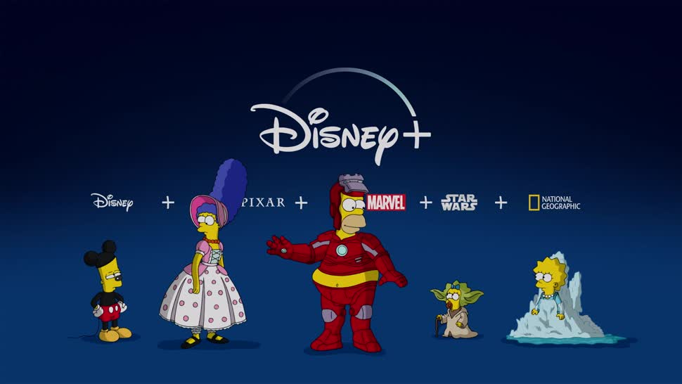 Streaming, Werbung, Werbespot, Streamingportal, Disney, Disney+, Videostreaming, Streamingdienst, Simpsons, Streaming-Dienst, Die Simpsons, Streaming-Portal, The Simpsons, Streamingplattform, Streaming-Anbieter