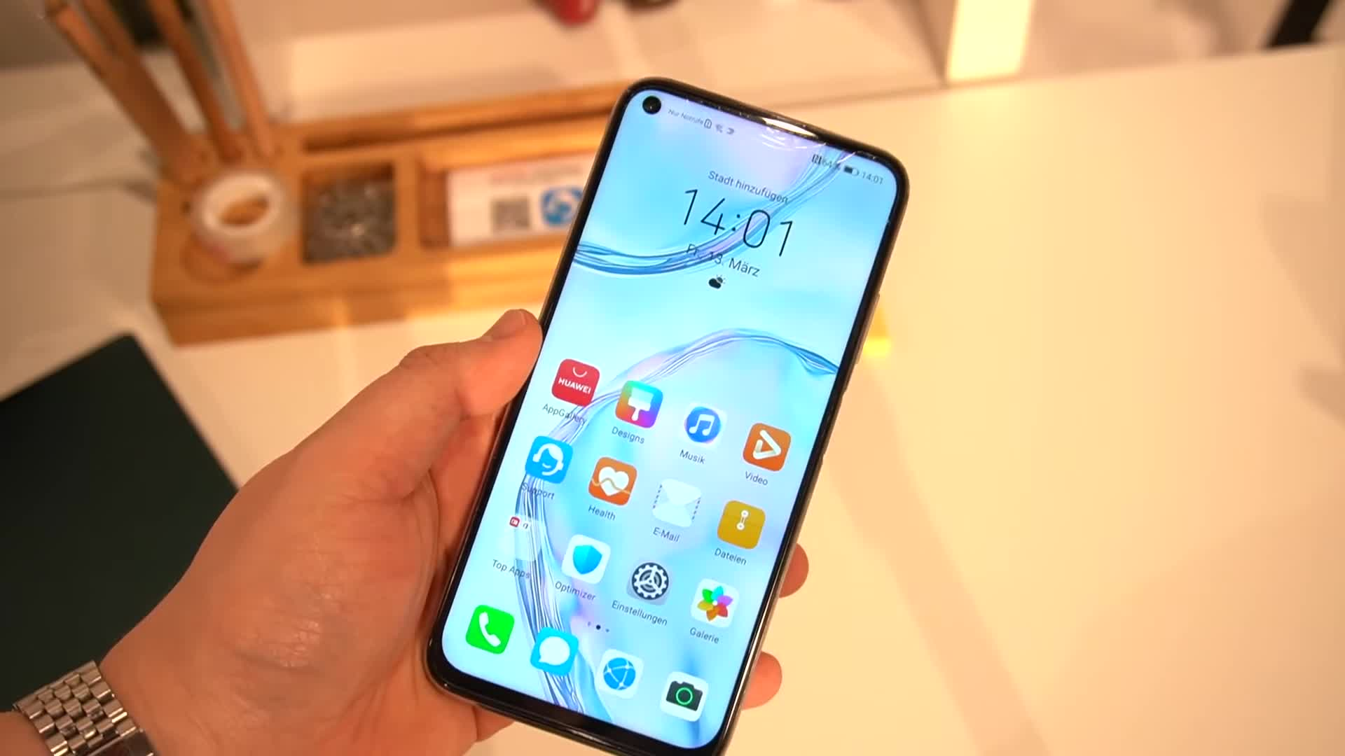 Smartphone, Android, Huawei, Hands-On, Hands on, Android 10, NewGadgets, Johannes Knapp, Huawei P40, Huawei P40 Lite, P40 Lite