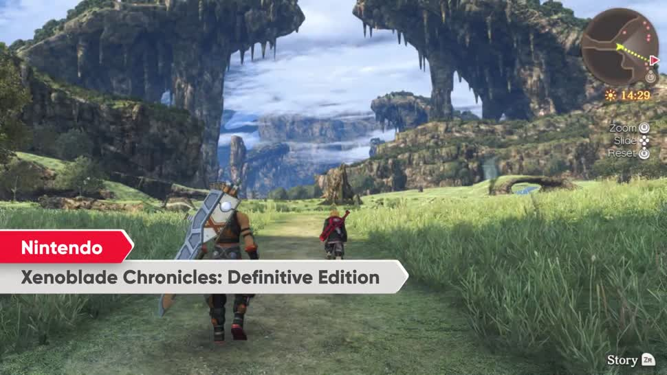 Trailer, Nintendo, Nintendo Switch, Nintendo Konsole, Switch, Direct, Xenoblade Chronicles