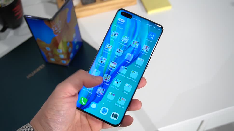 Smartphone, Android, Huawei, Hands-On, Hands on, NewGadgets, Johannes Knapp, Huawei P40, Huawei P40 Pro, P40 Pro