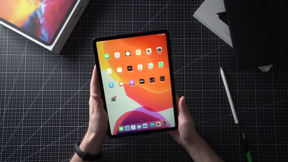 Apple, Tablet, Ipad, Apple Ipad, Andrzej Tokarski, Tabletblog, ipad pro, Unboxing, Apple iPad Pro, iPadOS, Apple iPad Pro 2020, iPad Pro 2020