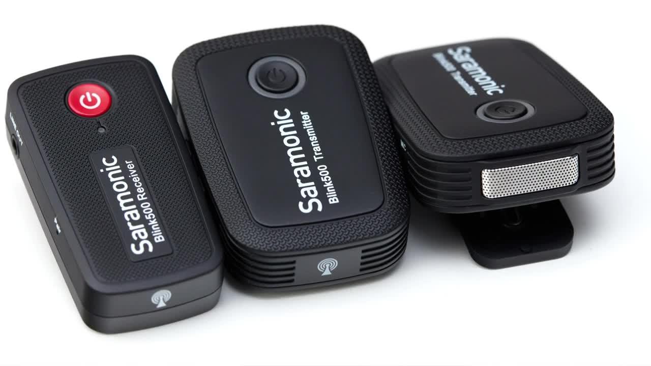 Video, Kamera, ValueTech, Mikrofon, Saramonic, Blink 500, Funkstrecke