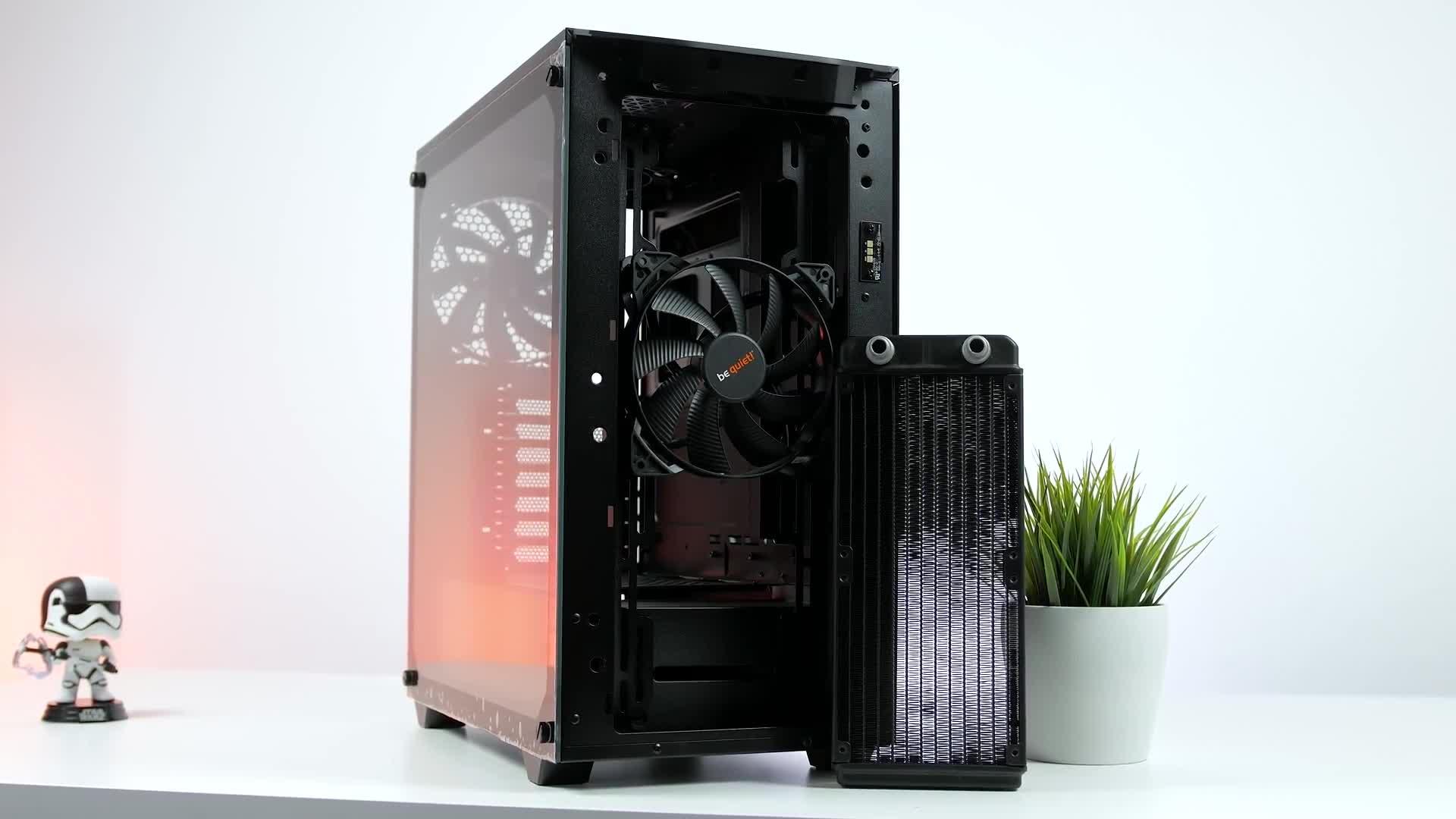Test, Zenchilli, Zenchillis Hardware Reviews, Gehäuse, Tower, be quiet, bequiet, Pure Base, Pure Base 500DX