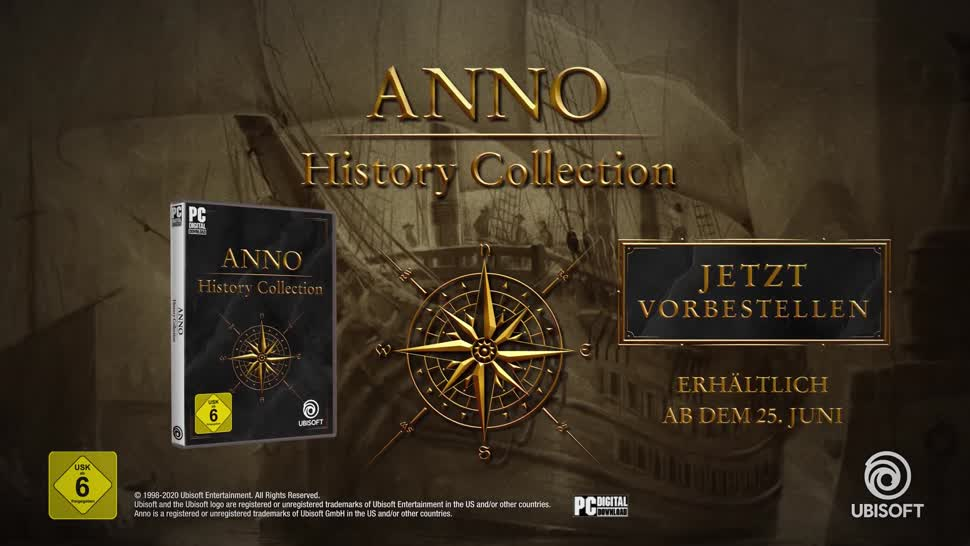 Trailer, Ubisoft, Strategiespiel, Simulation, Anno, Städtesimulation, Anno 1404, Anno 1602, Anno 1503, Anno 1701, Anno History Collection