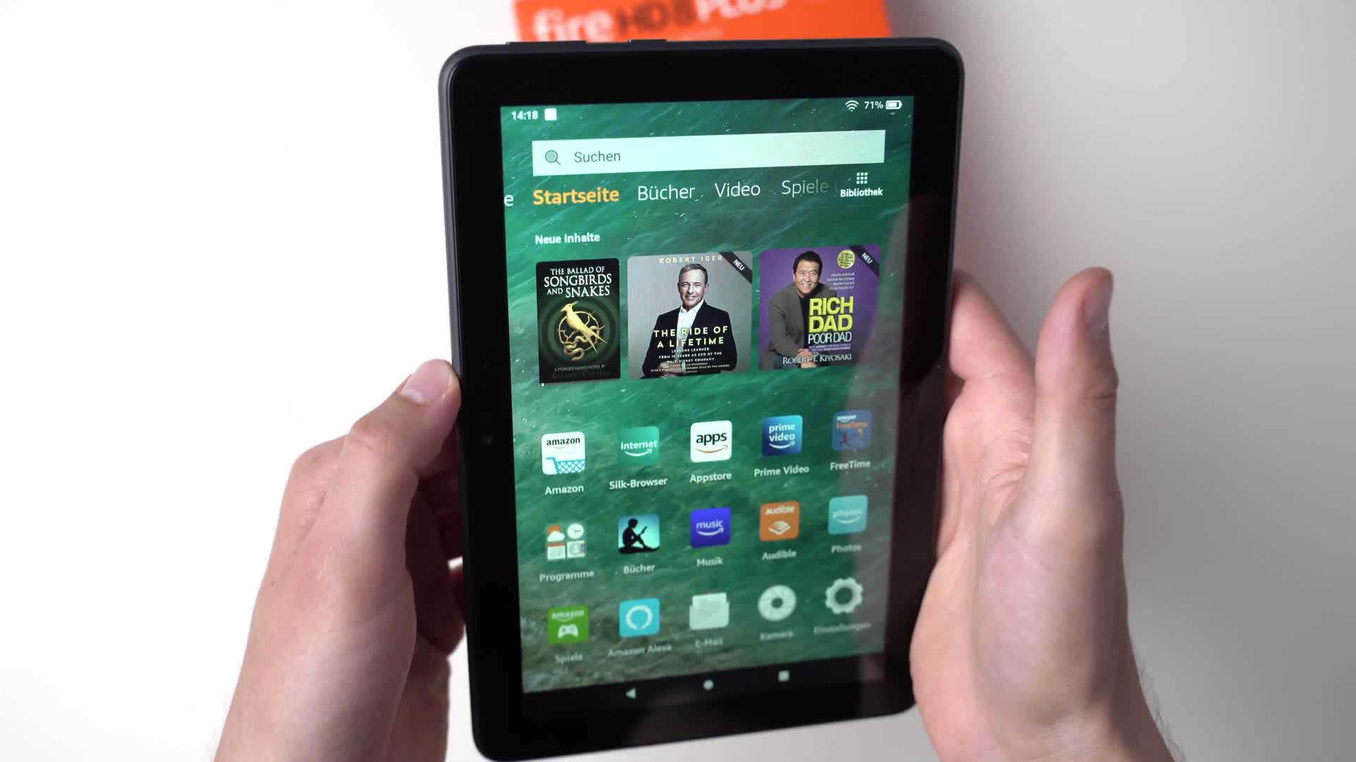 Tablet, Amazon, Andrzej Tokarski, Tabletblog, Unboxing, Amazon Fire, Fire HD, Amazon Fire HD 8, Fire HD 8, Fire OS, Fire HD 8 Plus, Amazon Fire HD 8 Plus