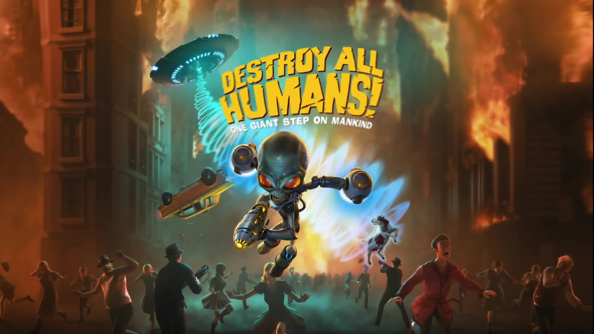 Trailer, actionspiel, Thq, THQ Nordic, Destroy All Humans