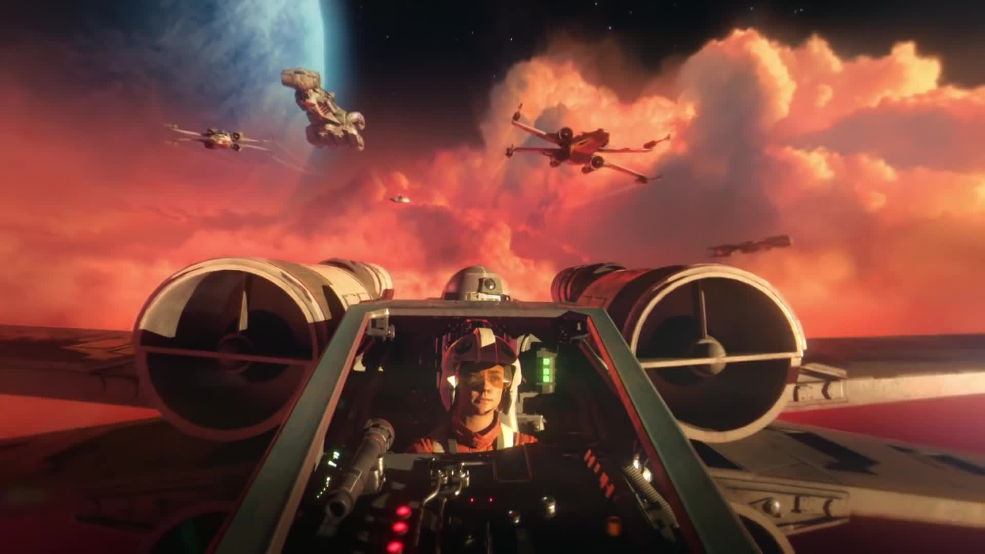 Trailer, Electronic Arts, Ea, Star Wars, Simulation, Weltraumsimulation, Star Wars Squadrons