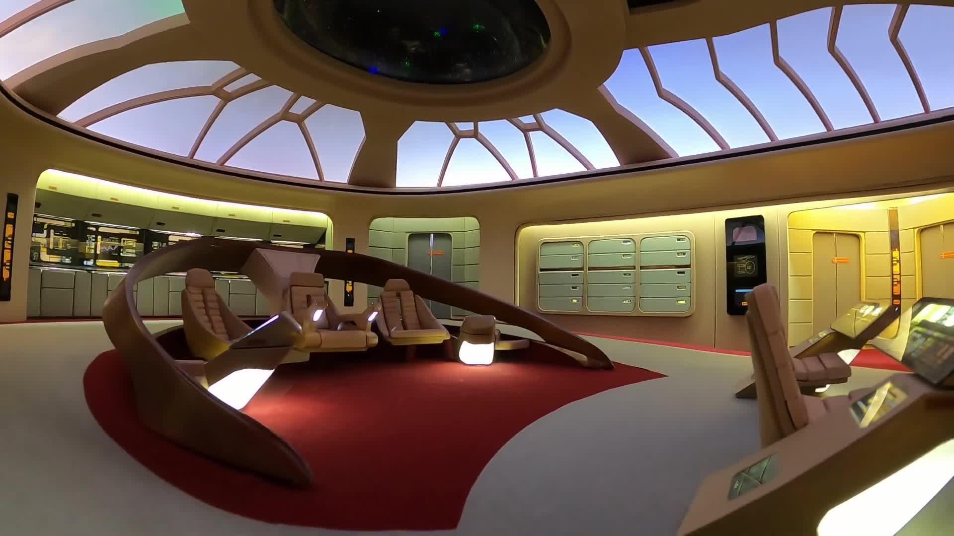 Star Trek, Modell, Enterprise-D, Star Trek The Next Generation, Geoff Collard, Enterprise D, Modellbau