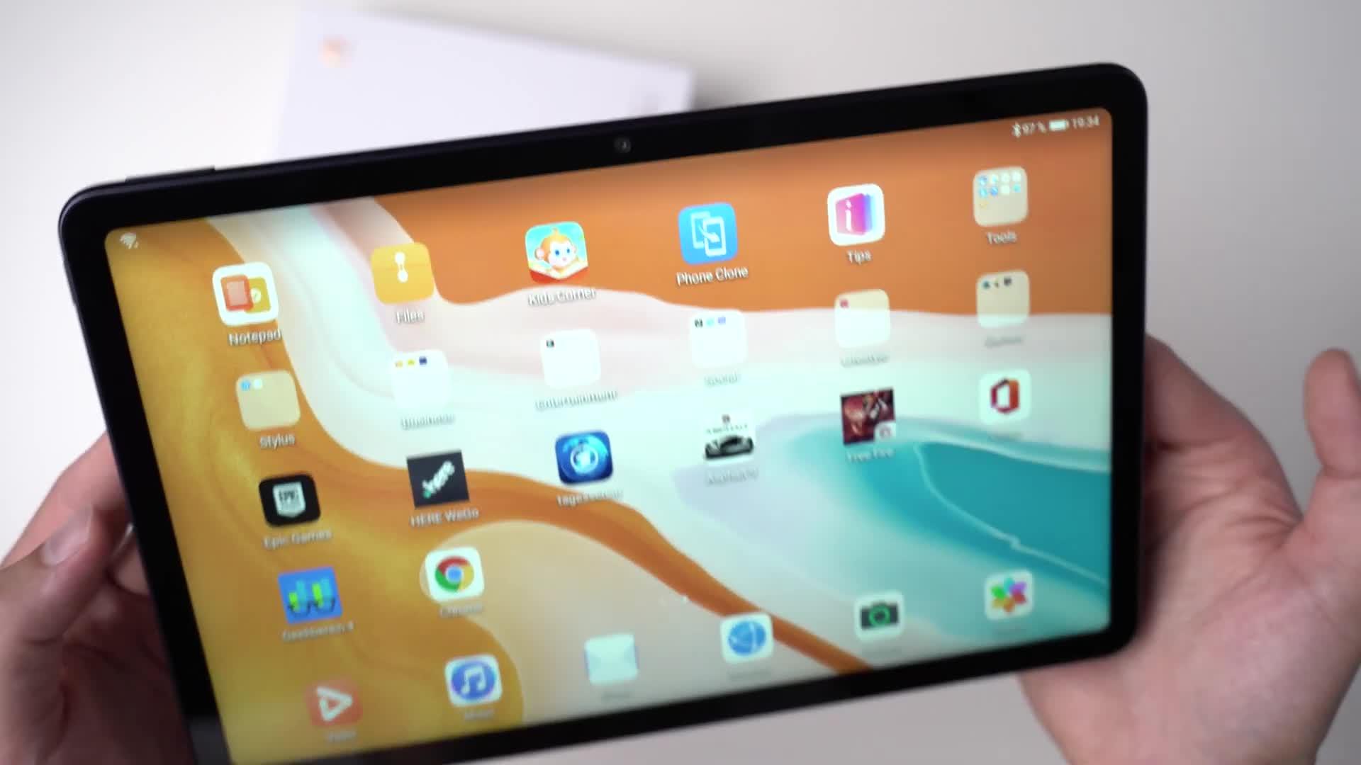 Android, Tablet, Hands-On, Andrzej Tokarski, Tabletblog, Unboxing, MatePad, Huawei MatePad, Huawei MatePad 10.4, MatePad 10.4
