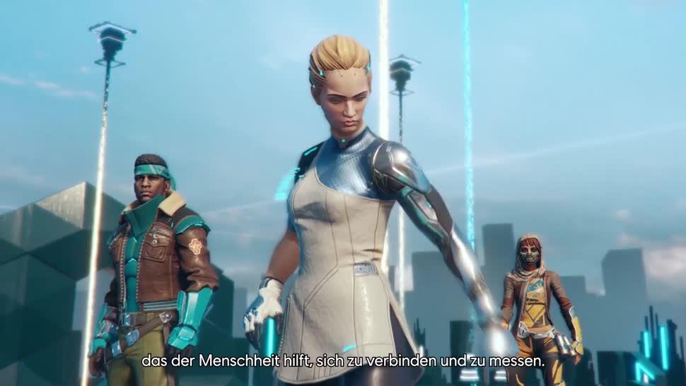 Trailer, Ego-Shooter, Ubisoft, actionspiel, Online-Shooter, Battle Royale, Hyper Scape