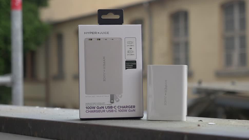 Smartphone, Notebook, Energie, Stromversorgung, USB Type-C, Timm Mohn, Netzteil, HyperJuice, Usb Type-A, 100W