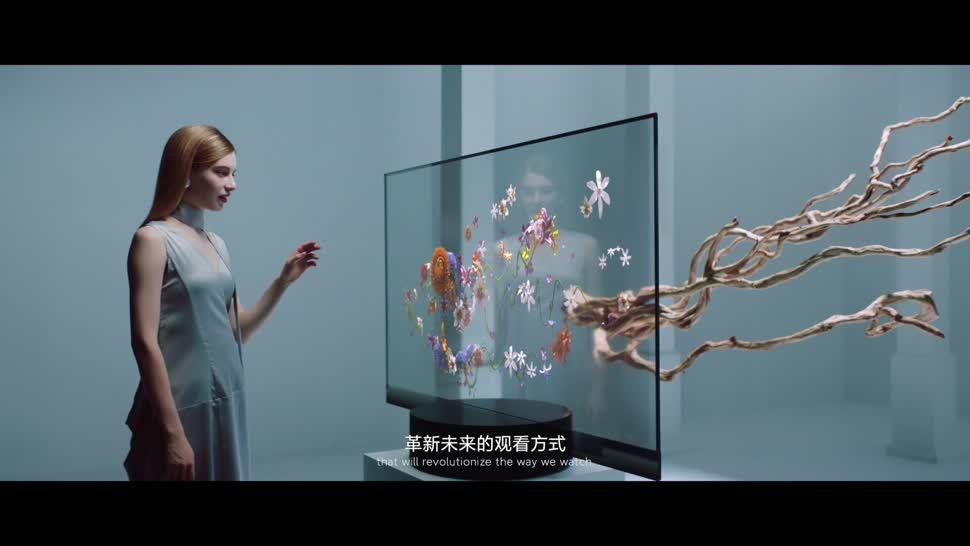 Tv, Fernseher, Xiaomi, OLED, TV-Gerät, Xiaomi Mi TV Lux OLED Transparent Edition, Mi TV Lux OLED Transparent Edition