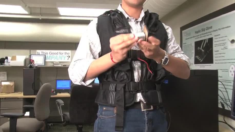 Force Feedback, Tactile Gaming Vest, Spielweste