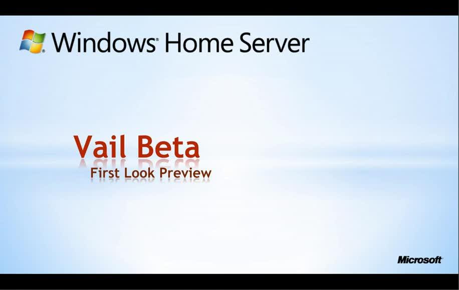 Windows, Windows 7, Demo, Features, Home Server, 64 Bit, Windows Home Server, Vail, Windows Home Server 2011, V2, Overview