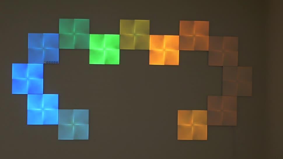 Test, Smart Home, Licht, Timm Mohn, Beleuchtung, Canvas, Nanoleaf