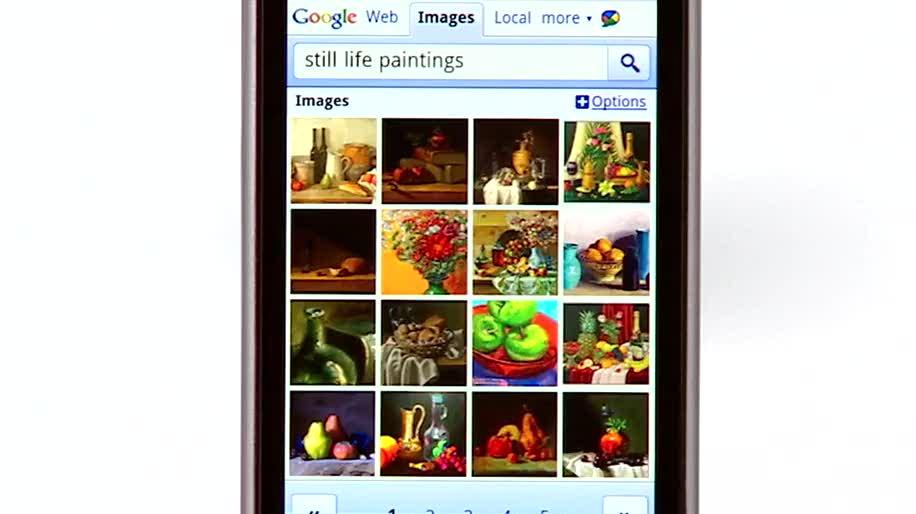 Google Bildersuche Mobile