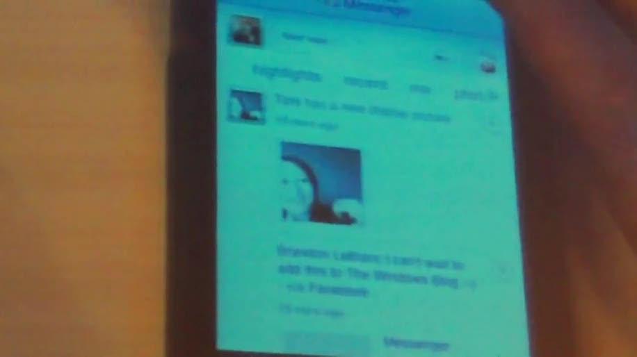 Iphone, Messenger, Messaging, IM, Windows Live, The Next Web