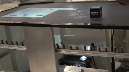 Sony, Display, Touch, Multitouch, atracTable, Atracsys