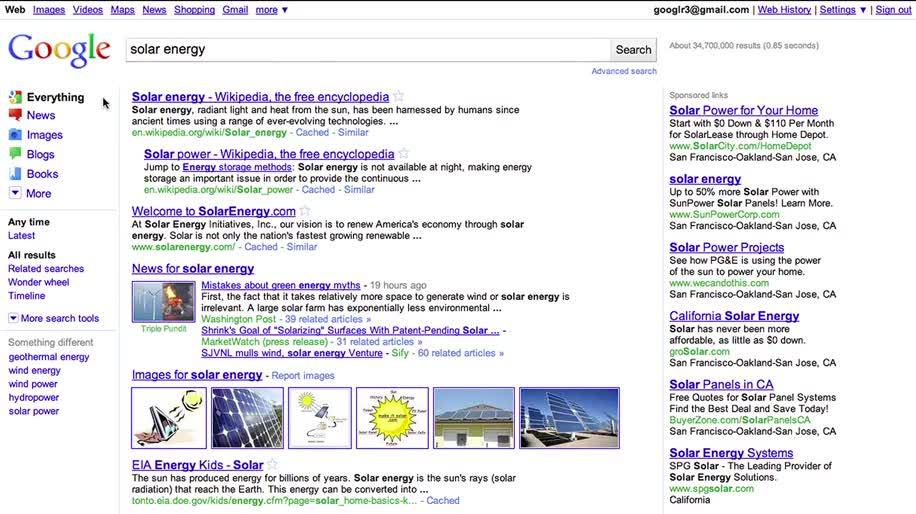 Google, Design