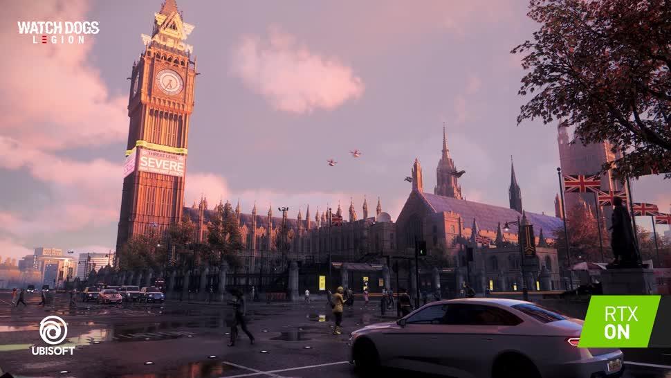 Trailer, Ubisoft, actionspiel, Watch Dogs, Raytracing, RTX, Nvidia RTX, Watch Dogs: Legion, Watch Dogs Legion