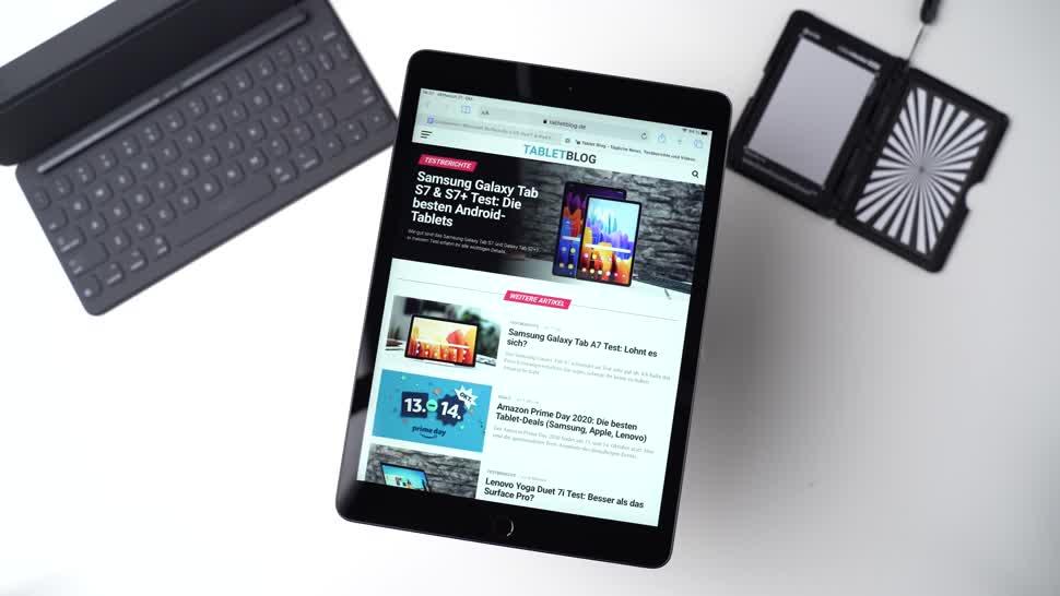Apple, Tablet, Ipad, Test, Apple Ipad, Andrzej Tokarski, Tabletblog, iPad 8, Apple iPad 8