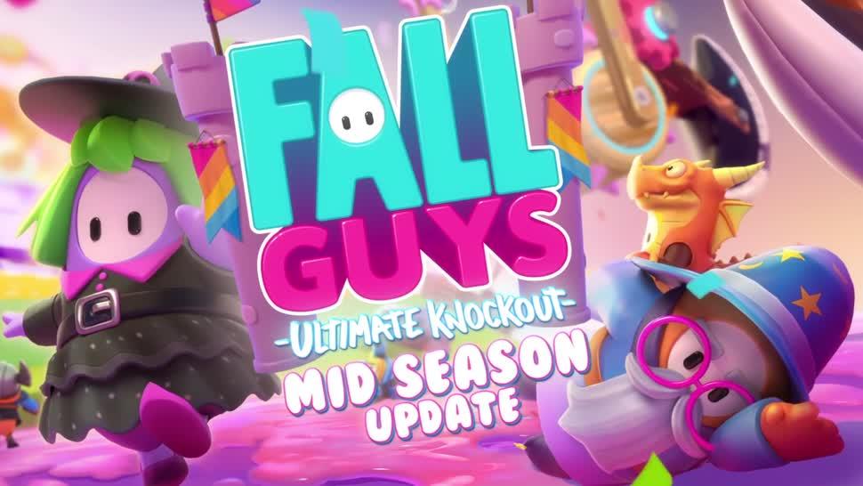 Trailer, Update, Multiplayer, Online-Spiele, Devolver Digital, Devolver, Fall Guys, Ultimate Knockout
