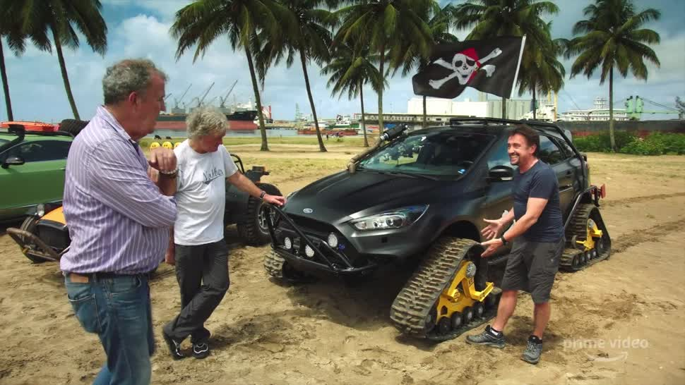 The Grand Tour ist zurück und geht auf Schatzsuche auf Madagaskar