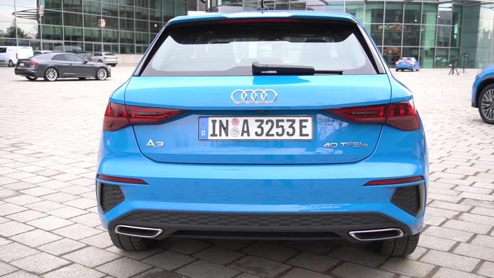 Test, Auto, Fahrzeug, NewGadgets, Johannes Knapp, Hybrid, Audi, E-Mobilität, Audi A3 Sportback 40 TFSI e, A3 Sportback 40 TFSI e, A3 45 TFSI e, Audi A3 45 TFSI e