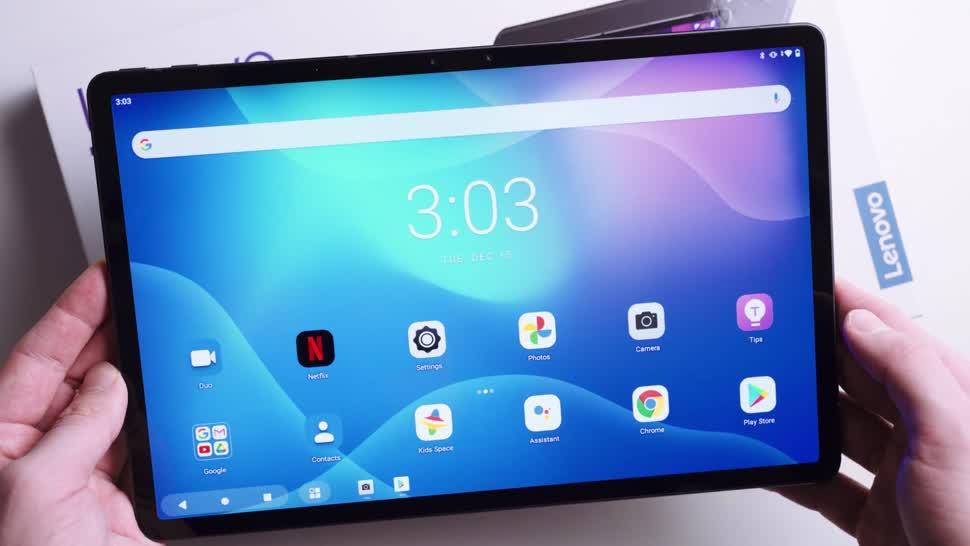 Android, Tablet, Lenovo, Andrzej Tokarski, Android 10, Tabletblog, Unboxing, Lenovo Tab, Lenovo Tab P11, Lenovo Tab P11 Pro, Tab P11 Pro