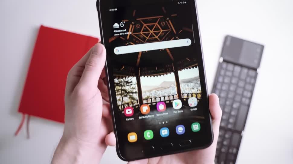 Android, Tablet, Samsung, Galaxy, Samsung Galaxy, Test, Andrzej Tokarski, Tabletblog, Samsung Mobile, Samsung Galaxy Tab, Samsung Galaxy Tab Active 3, Galaxy Tab Active 3
