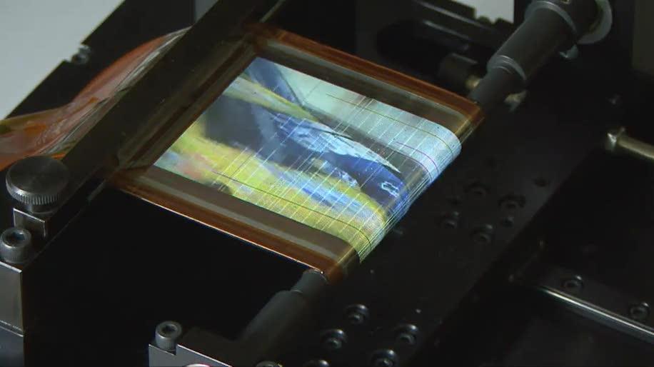 Sony, Display, OLED, flexibel