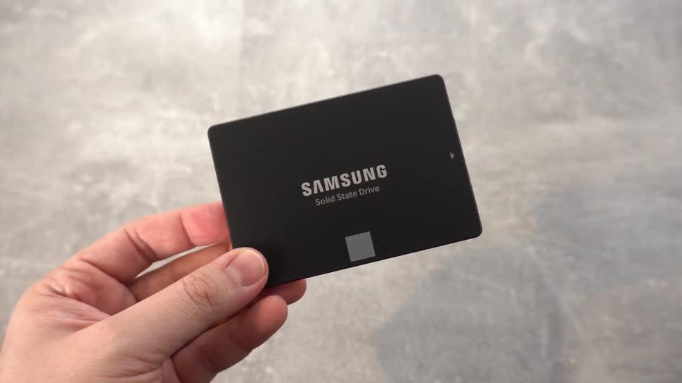 Samsung, Test, Ssd, NewGadgets, Johannes Knapp, Solid State Drive, Datenträger, solid state disk, Samsung 870 EVO, Samsung 870
