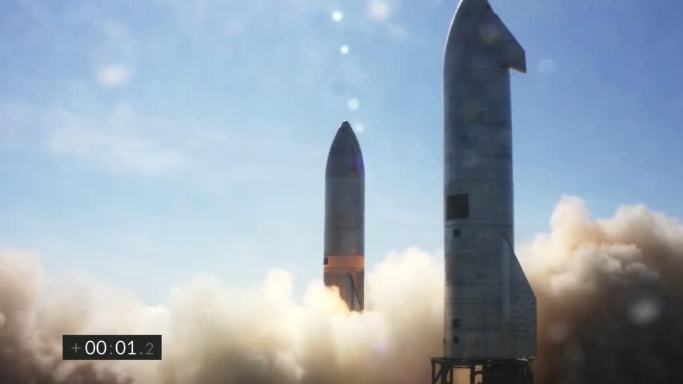 Forschung, Wissenschaft, Weltraum, Raumfahrt, Elon Musk, Weltall, Spacex, Rakete, Starship, Starship SN8, Starship Sn9