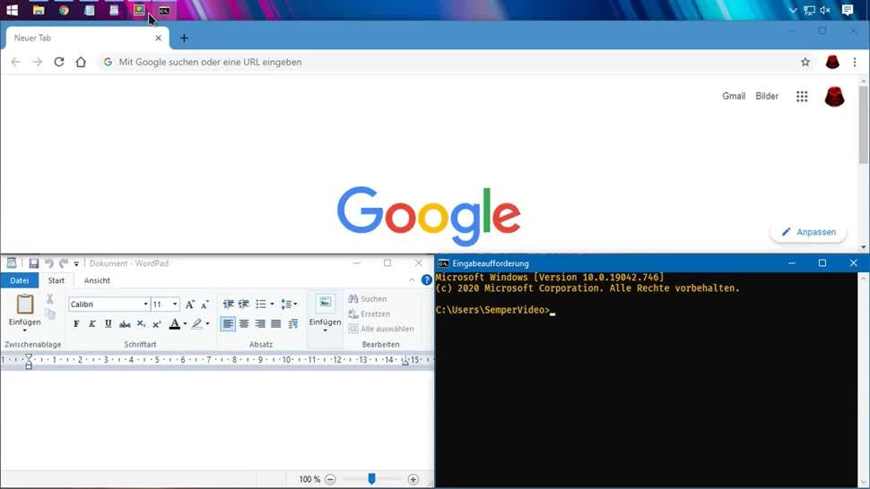 Microsoft, Windows, Ui, Benutzeroberfläche, SemperVideo, Fenster, Fancy Zones, Windows Snap, Power toys