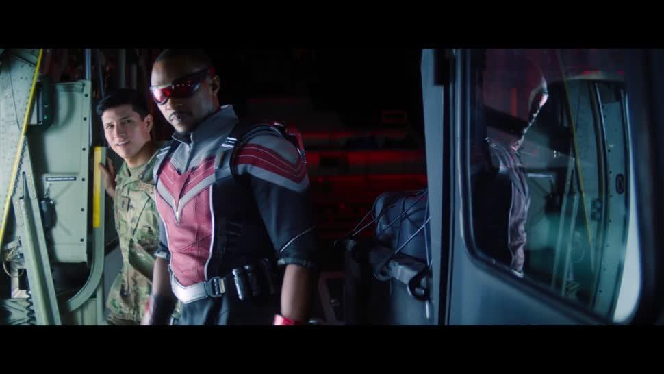 Werbung, Werbespot, Serie, Disney, Disney+, Marvel, Super Bowl, Superheld, Super Bowl 2021, Superhelden, The Falcon and the Winter Soldier