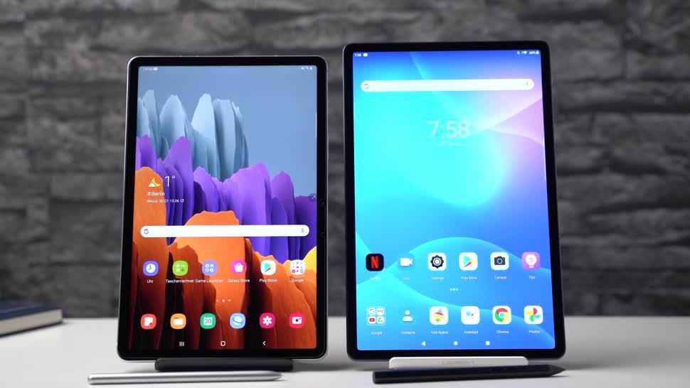 Android, Tablet, Samsung, Galaxy, Samsung Galaxy, Test, Lenovo, Andrzej Tokarski, Tabletblog, Vergleich, Samsung Galaxy Tab S7, Lenovo Tab P11, Lenovo Tab P11 Pro, Tab P11 Pro