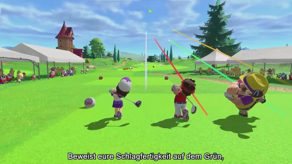 Trailer, Nintendo, Nintendo Switch, Switch, Sportspiel, golf, Mario Golf: Super Rush, Mario Golf Super Rush, Mario Golf, Super Rush